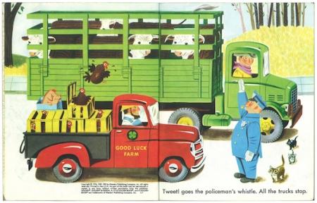 カーズ アンド トラックス|リトルゴールデンブック1