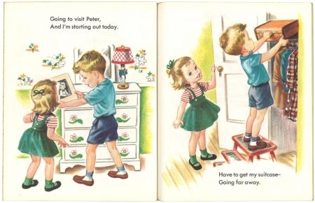 スーツケースを開けたら #リトルゴールデンブック 1