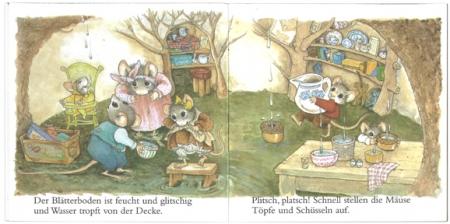 野ねずみ一家のおひっこし|ピクシー絵本1