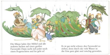 野ねずみ一家のおひっこし|ピクシー絵本3