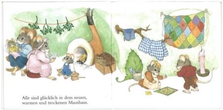 野ねずみ一家のおひっこし|ピクシー絵本4