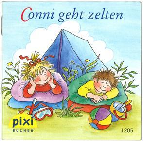 コニーとキャンプ|ピクシー絵本表紙