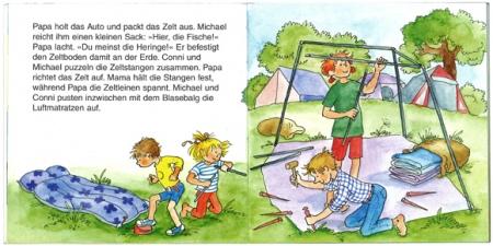 コニーとキャンプ|ピクシー絵本2