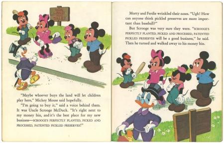 ミッキーマウス と空き地計画|リトルゴールデンブック1