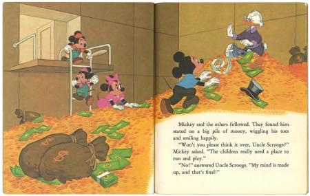 ミッキーマウス と空き地計画|リトルゴールデンブック2