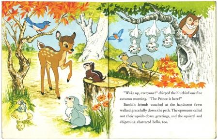 バンビと森の友だち|リトルゴールデンブック1