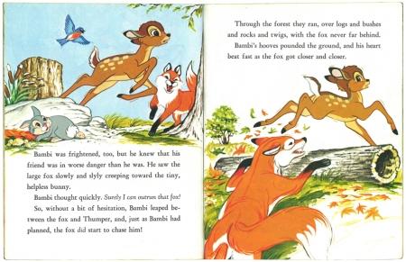 バンビと森の友だち|リトルゴールデンブック2