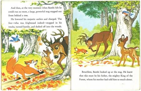 バンビと森の友だち|リトルゴールデンブック3