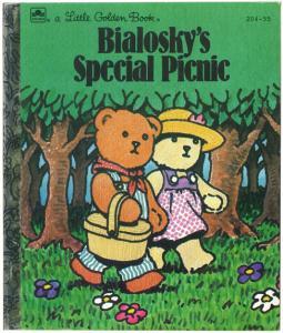 ビオロスキーのピクニック|リトルゴールデンブック表紙