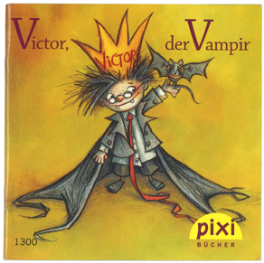 ヴァンパイアのビクター#ピクシー絵本表紙