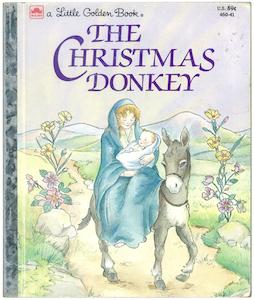 クリスマスのろば|リトルゴールデンブック表紙