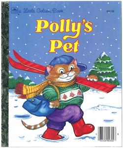 ポリーのペット|リトルゴールデンブック表紙