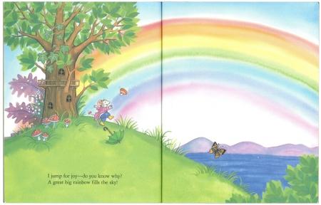 リトルマウスの色の本|リトルゴールデンブック3