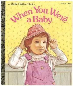 あなたが赤ちゃんだったころ リトルゴールデンブック表紙