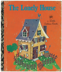 さびしいお家|リトルゴールデンブック表紙