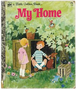 ぼくの家|リトルゴールデンブック表紙