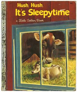 おやすみなさいの時間 リトルゴールデンブック表紙