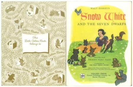 ディズニーの白雪姫 リトルゴールデンブック