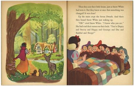 白雪姫と七人の小人/14版 リトルゴールデンブック1