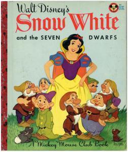 白雪姫と七人の小人/14版 リトルゴールデンブック表紙