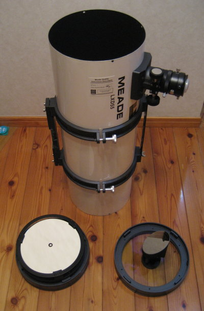 SN8鏡筒の清掃