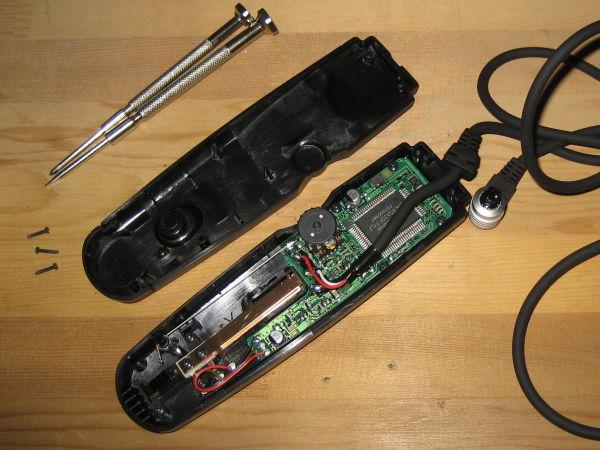 CANONタイマーリモートコントローラTC-80N3の内部