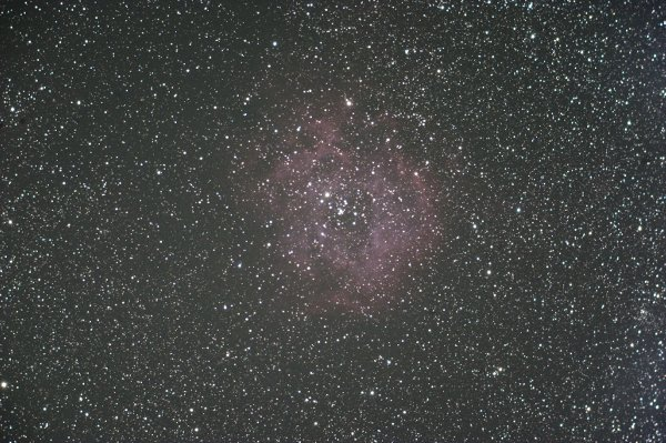 kissD改造で撮影したバラ星雲