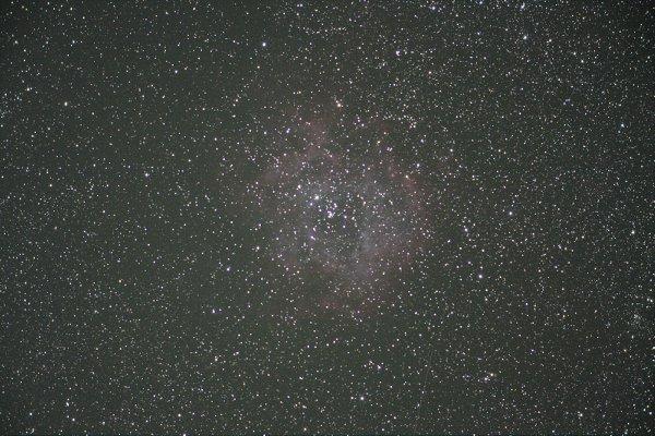 ノーマル40Dで撮影したバラ星雲