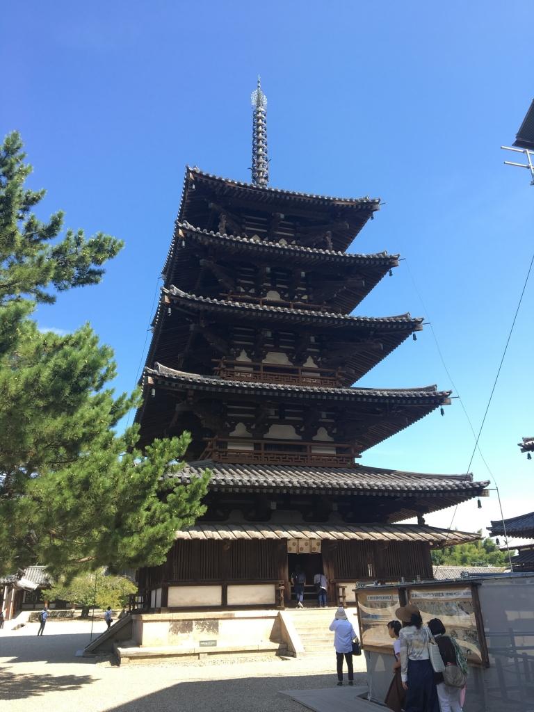 法隆寺 五重塔