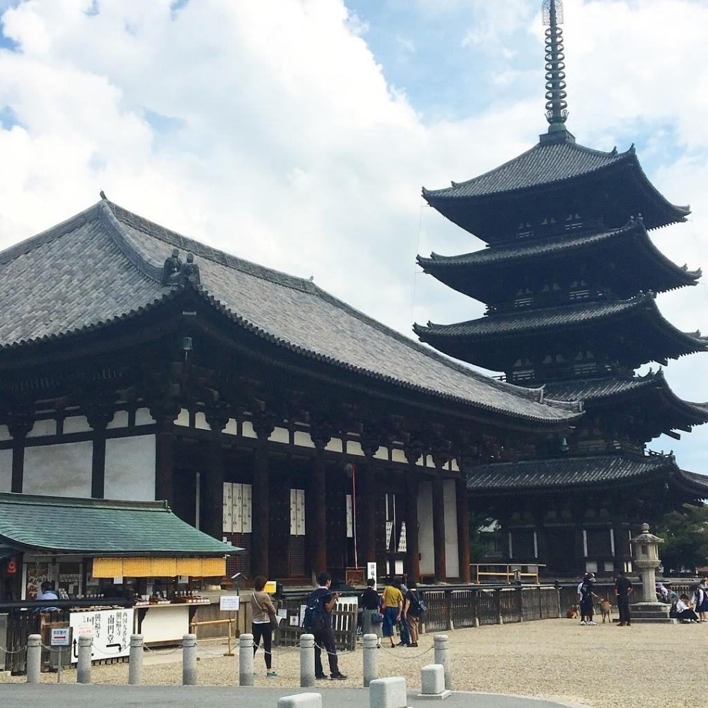 興福寺 五重塔と東金堂