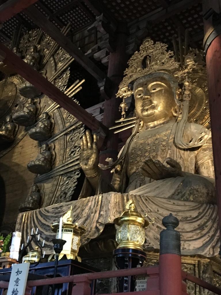 東大寺 大仏殿 如意輪観音坐像