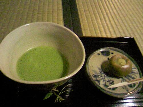 平野屋さんのお抹茶