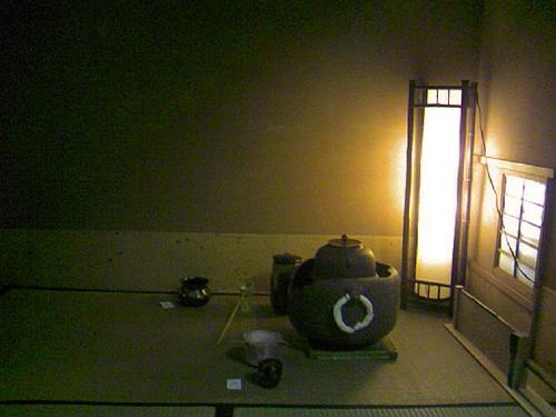 平野屋さんの茶室