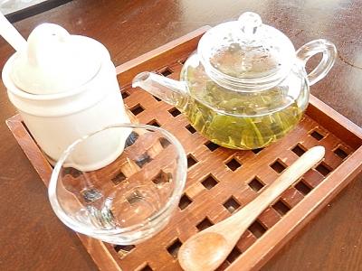ブドウの香りがするお煎茶