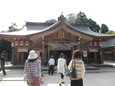 八重垣神社拝殿