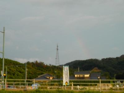 キララ多伎で見た虹