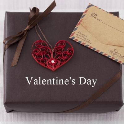 バレンタイン手作りラッピングにペーパークイリング菊地七夢ヴォーグ学園