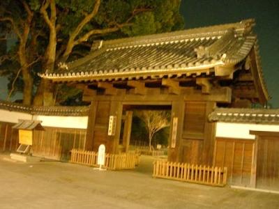 徳川園の黒門