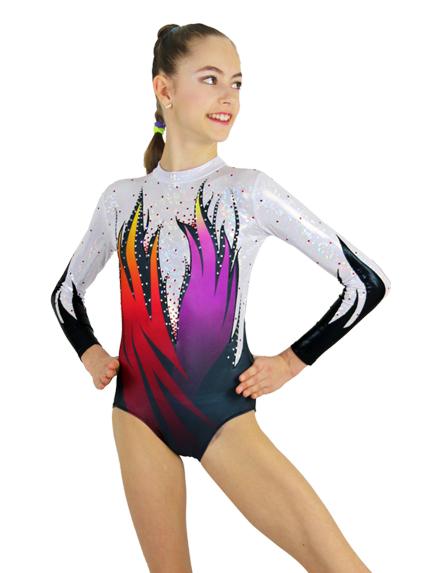 可愛いエアロビクス衣装