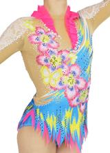 綺麗な新体操衣装