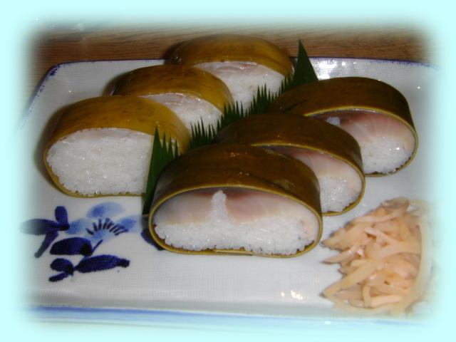 鯖・鯛寿司盛合せ