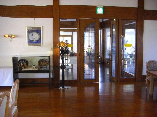 雁島別荘の応接室