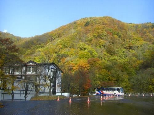 八甲田山中の山の紅葉