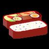 「素材ダス」のお弁当のイラスト