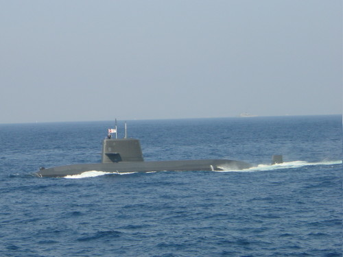 はるしお型練習潜水艦「あさしお」