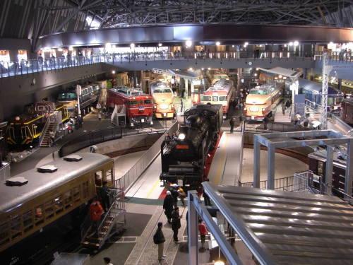 鉄道博物館 1階のヒストリーゾーン