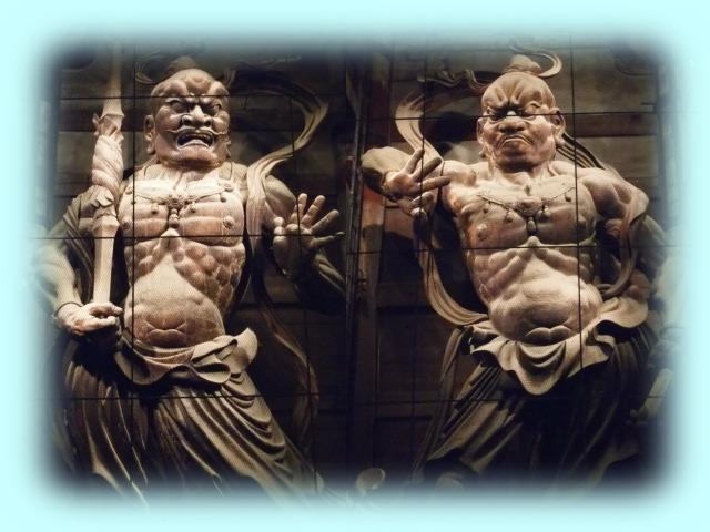 運慶と快慶の金剛力士像(WB調整後)