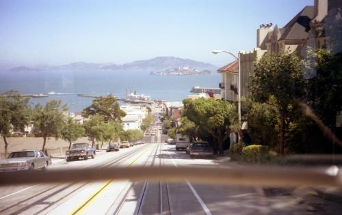 サンフランシスコ市内の坂