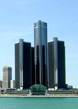 デトロイトのルネサンス・センター