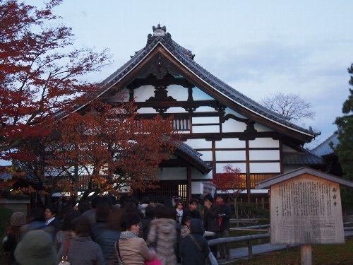 まだ明るいうちに撮った高台寺の入口